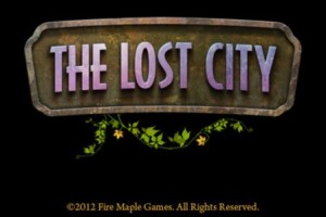 The Lost City title
