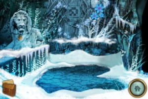 The Lost City blue winter flower location